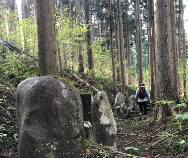 Dewa Kaido trail from Naruko